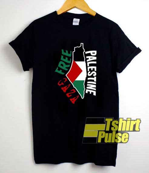 Free Gaza Palestine Poster shirt