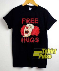 Free Hugs Creepy Clown shirt
