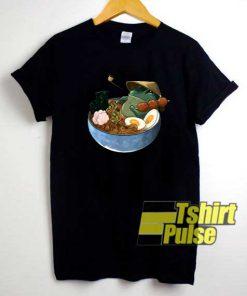 Frog In Bowl Ramen shirt
