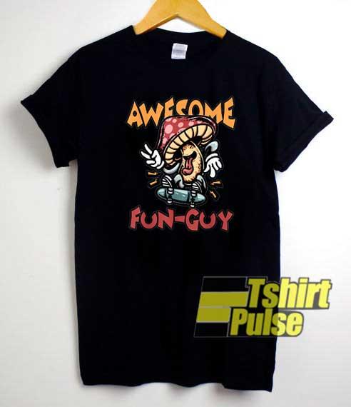 Funguy Mushroom Parody shirt