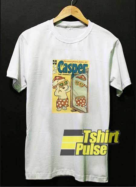 Funny Casper Ghost Poster shirt