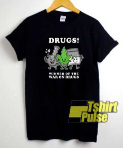 Funny War On Drugs Graphic shirt