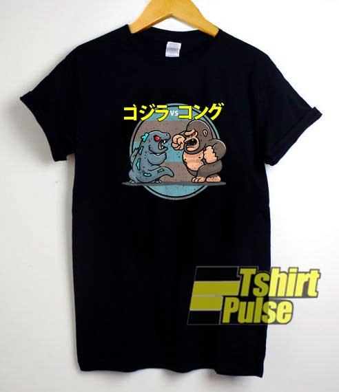 Godzilla Vs Kong Parody shirt