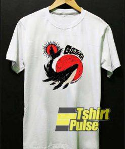 Gojira Whale From Mars shirt