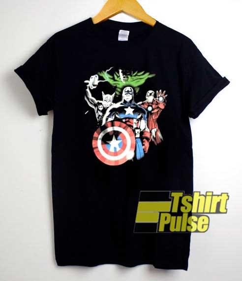 Heroes Avengers Vintage Meme shirt