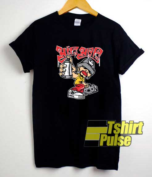 Hip Hop Cartoon Graphic shirt