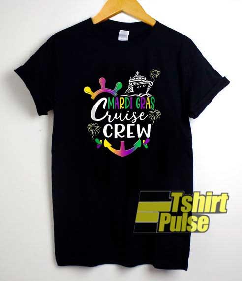Mardi Gras Cruise Crew shirt