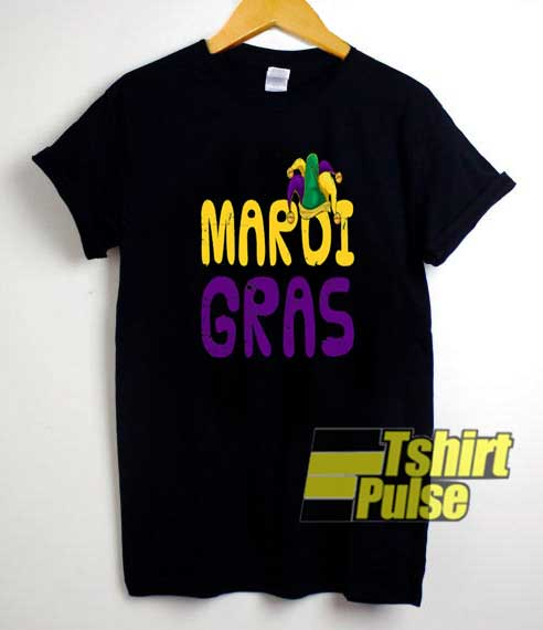 Mardi Gras Hat Party Graphic shirt