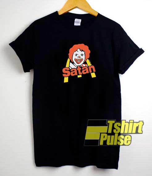 McSatan Parody shirt