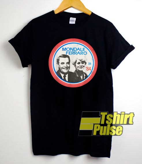 Mondale Ferraro Photos Logo shirt