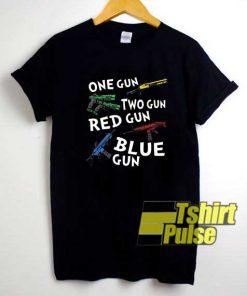 One Gun Two Gun Vtg shirt