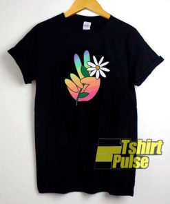Peace Love Daisies Art shirt