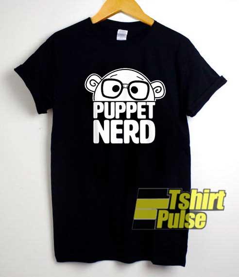 Puppet Nerd Cartoon Meme shirt