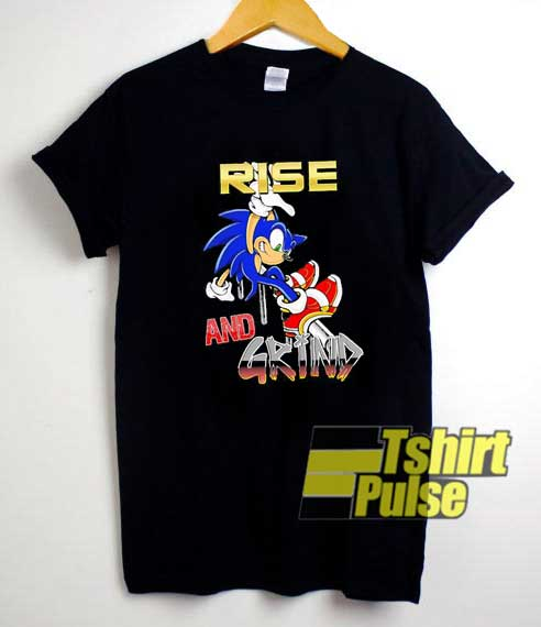 Rise And Grind Sonic shirt