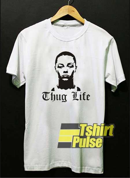 Rose Thug Life Meme Vtg shirt