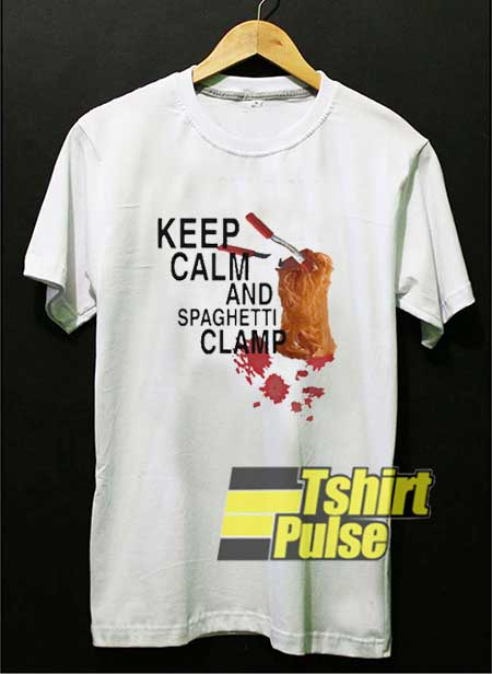 Spaghetti Clamp Meme shirt