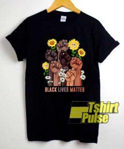 Sunflower Peace BLM shirt
