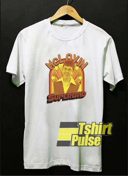 Superbad McLovin Stars Meme shirt