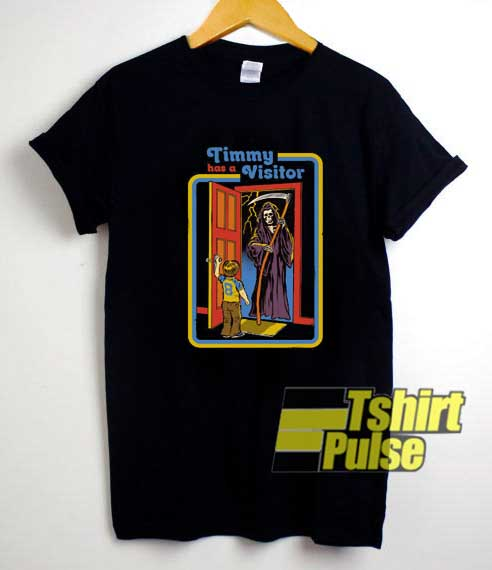 Timmy Has a Visitor Grim Reaper shirt