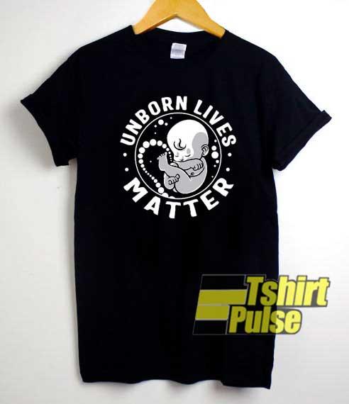 Unborn Lives Matter Meme shirt