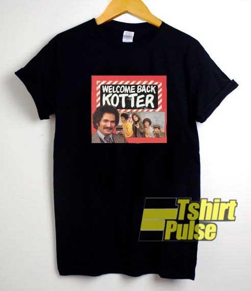 Welcome Back Kotter TV Poster shirt