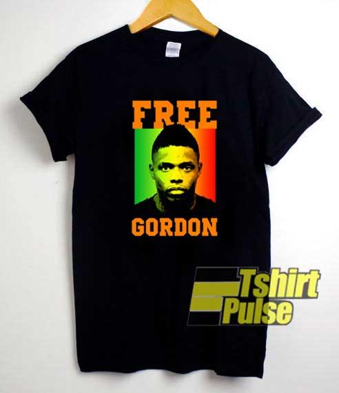 Free Josh Gordon Poster shirt