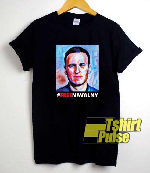 Hashtag Free Navalny shirt