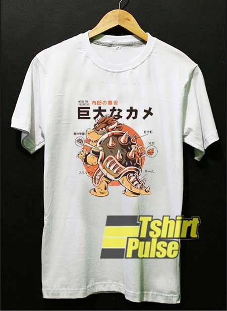 Japan Bowserzilla Funny shirt