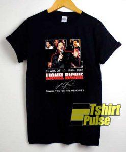 Lionel Richie Signature shirt