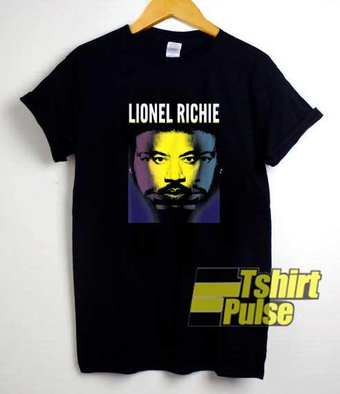 Lionel Richie Tri Portrait shirt
