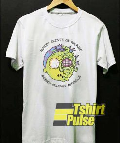 Morty Nobody Exists On Purpose shirt