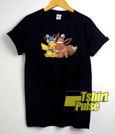 Pokemon Pikachu Christmas Meme shirt