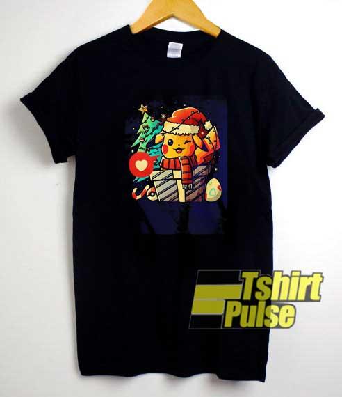 Pokemon Pikachu Christmas Tree shirt