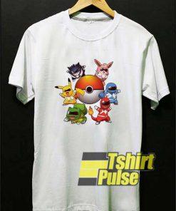 Pokemon Power Rangers Parody shirt