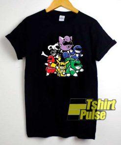 Power Rangers Spoof shirt