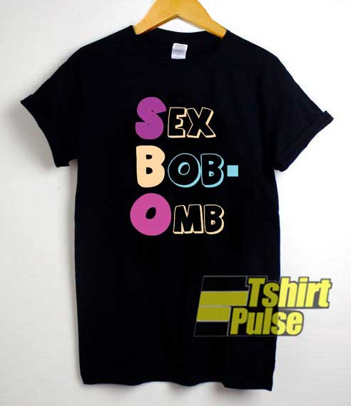 SexBobOmb Letter shirt