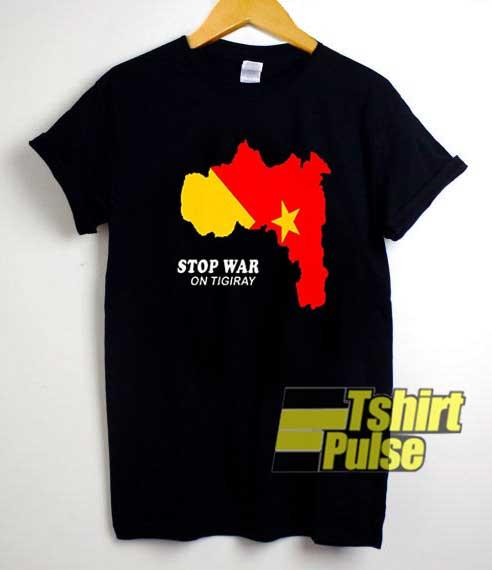 Stop War In Tigray Area shirt