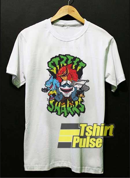 Street Sharks Vintage shirt