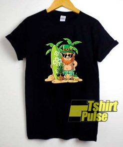 Surf Leprechaun Hawaiian shirt