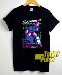 Transformers Soundwave 1984 Poster shirt