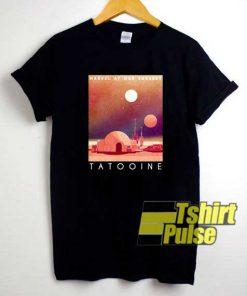 Visit Tatooine Poster shirt