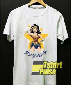 Wonder Sailor Parody Logo shirt