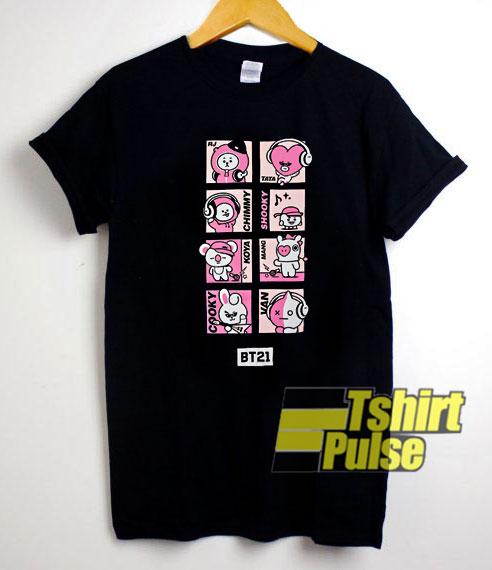 BT21 Comic Pop shirt