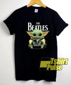 Baby Yoda And The Beatles shirt