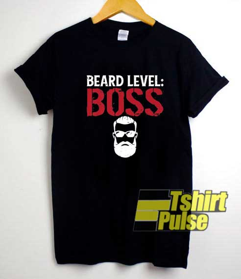 Beard Level Boss shirt
