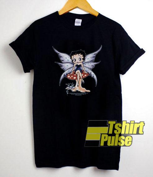 Betty Boop Mushroom Fairy shirt