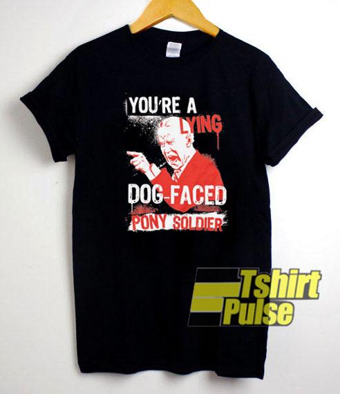 Biden Lying Dog Faced Pony shirt