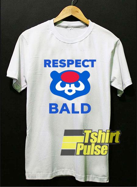 Cubs Respect Bald shirt