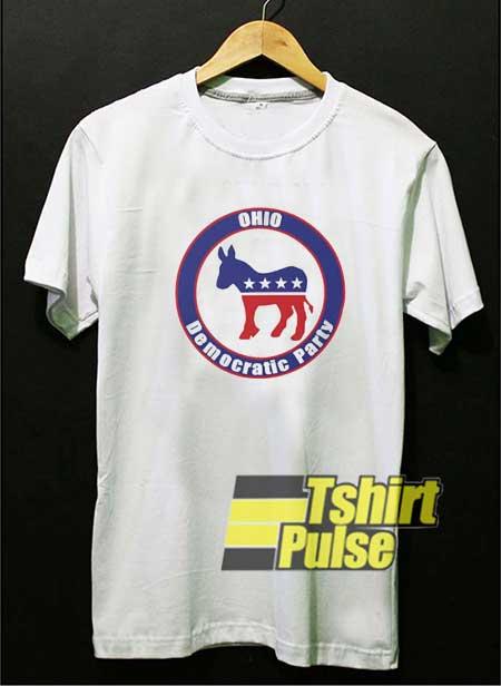 Democratic Party Ohio Donkey shirt