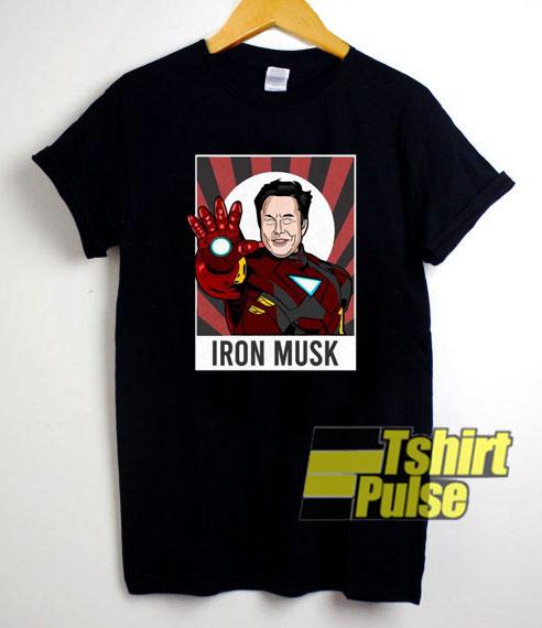 Elon Musk Iron Man shirt